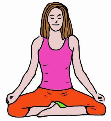 Burmese Meditation Posture - Front