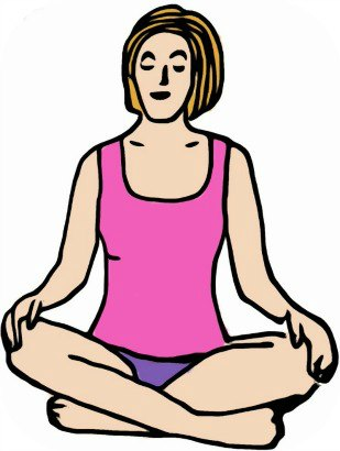 Cross-Legged Meditation Posture